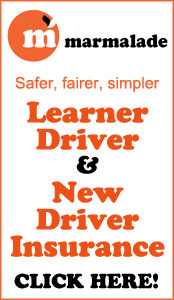 Learner Driver and New Driver Insurance - click here